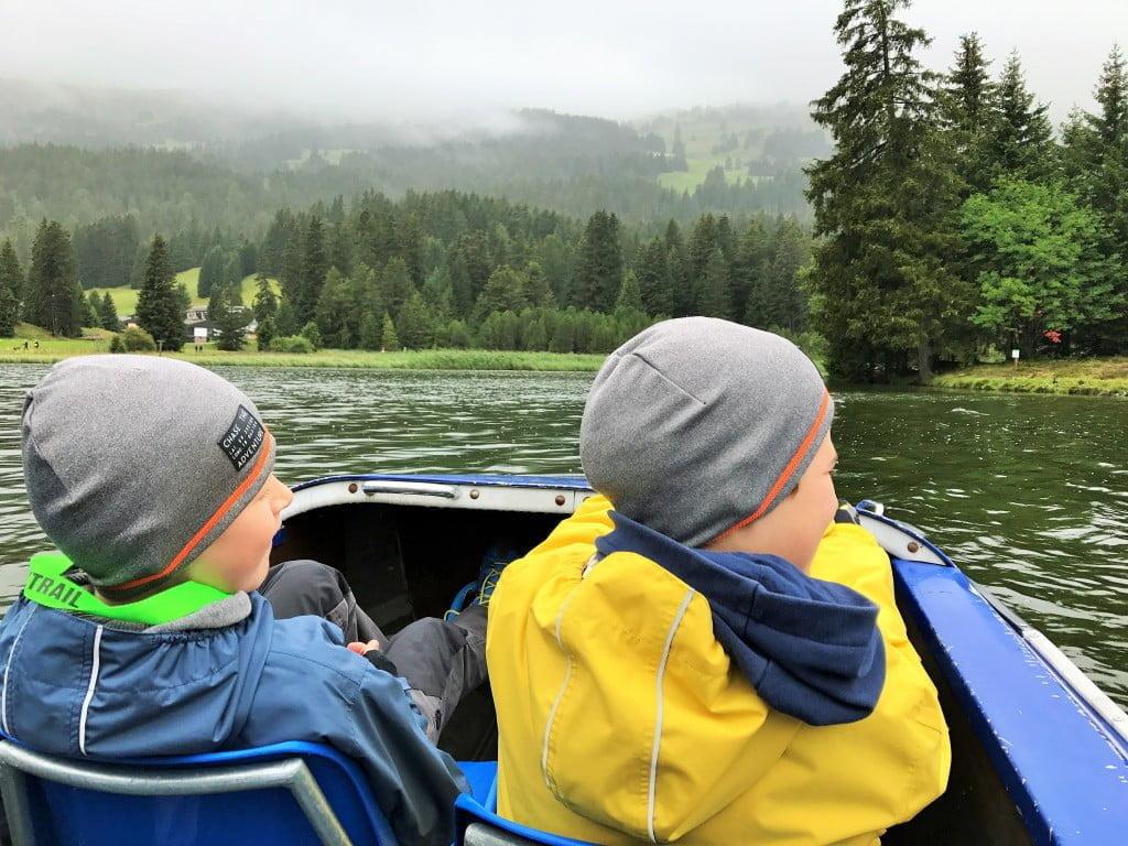 Sommerferien mit der Familie Graubünden Lenzerheide Foxtrail