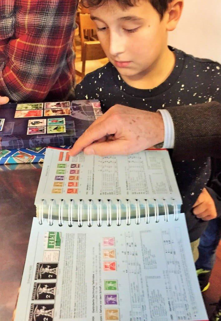 Wenn Kinder Briefmarken sammeln