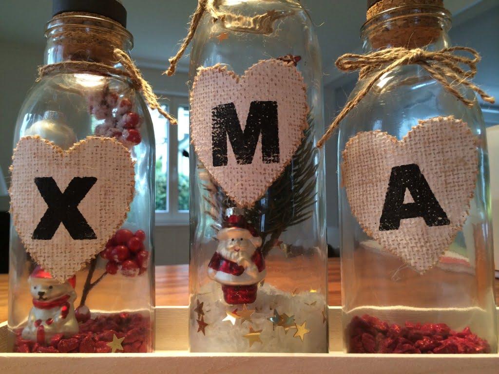 Winter- und Weihnachtsdeko für Zuhause: Zauberwelt im Glas
