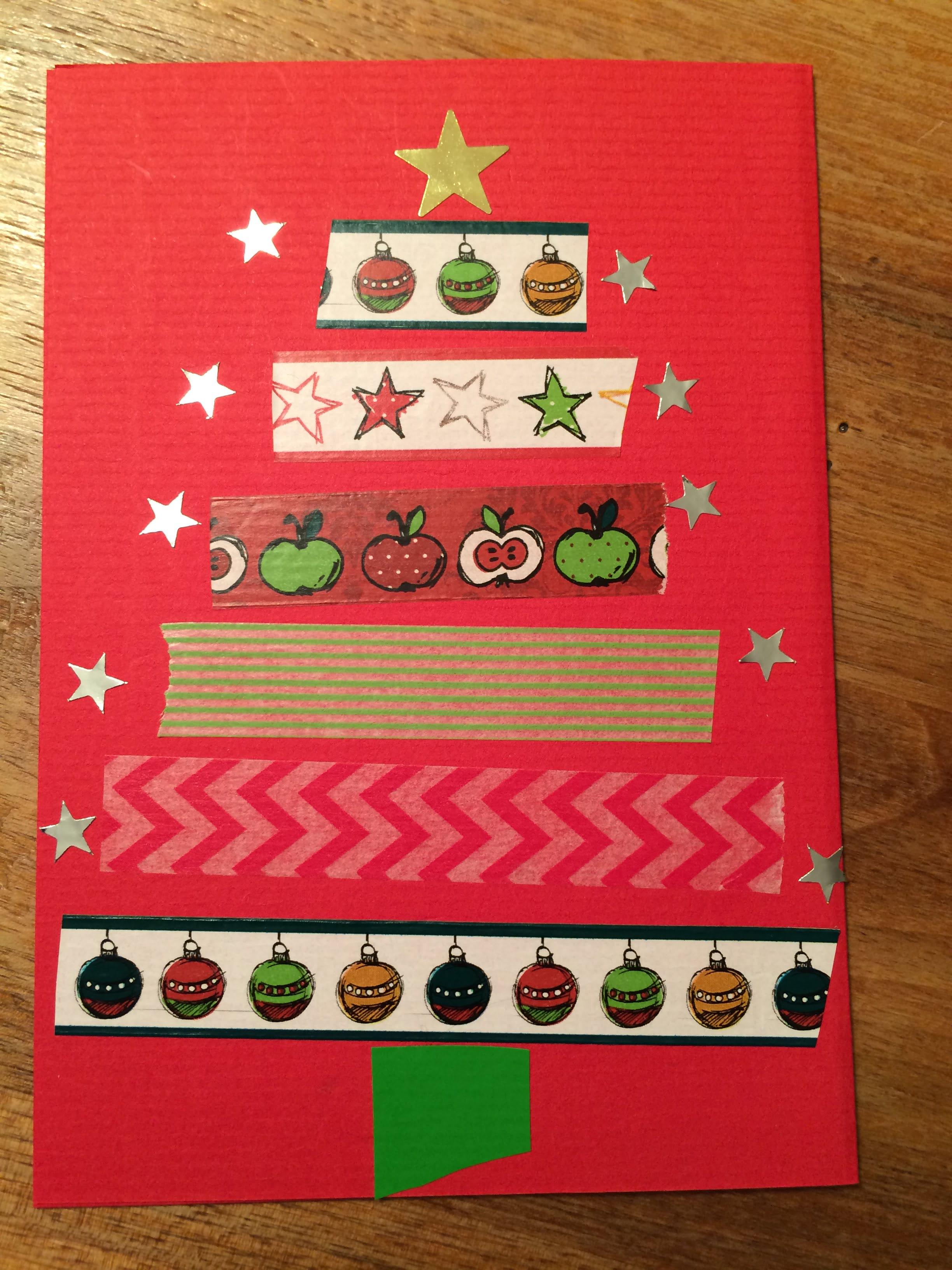 Gebastelte Weihnachtskarten.Schreibt Mal Wieder Weihnachtskarten Selbst Gemacht Schweizer
