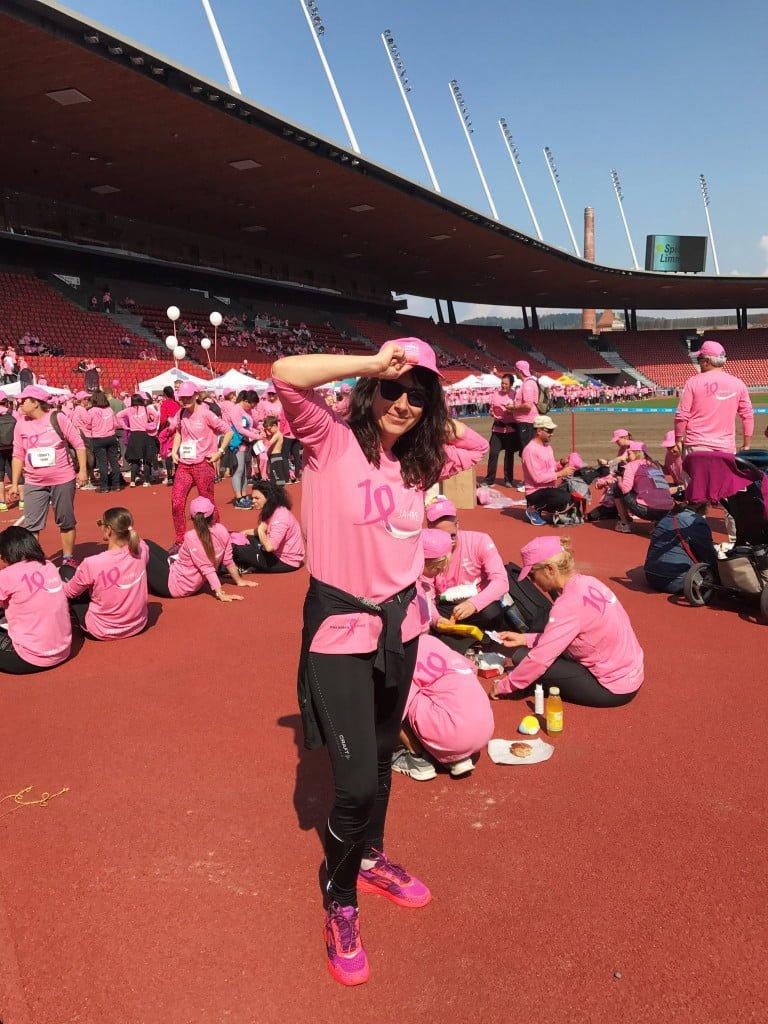 Pink Ribbon Charity Walk: Viel Optimismus und Lebensfreude