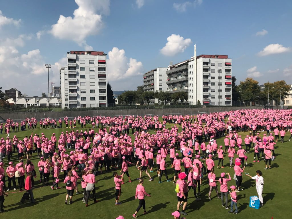 Pink Ribbon Charity Walk