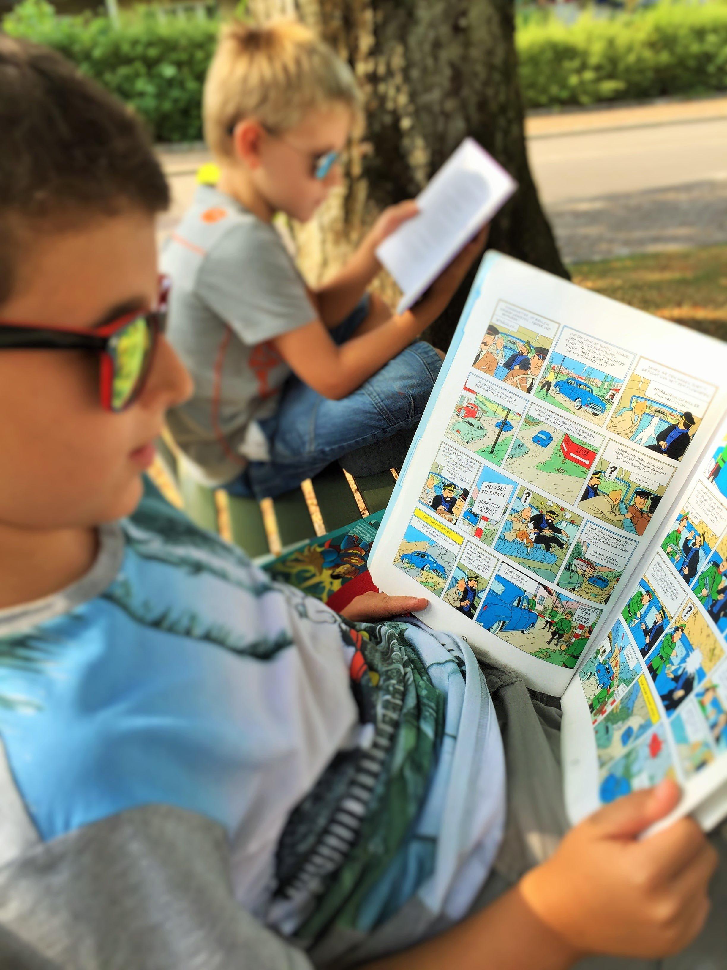 Kinder zum Bücher lesen motivieren