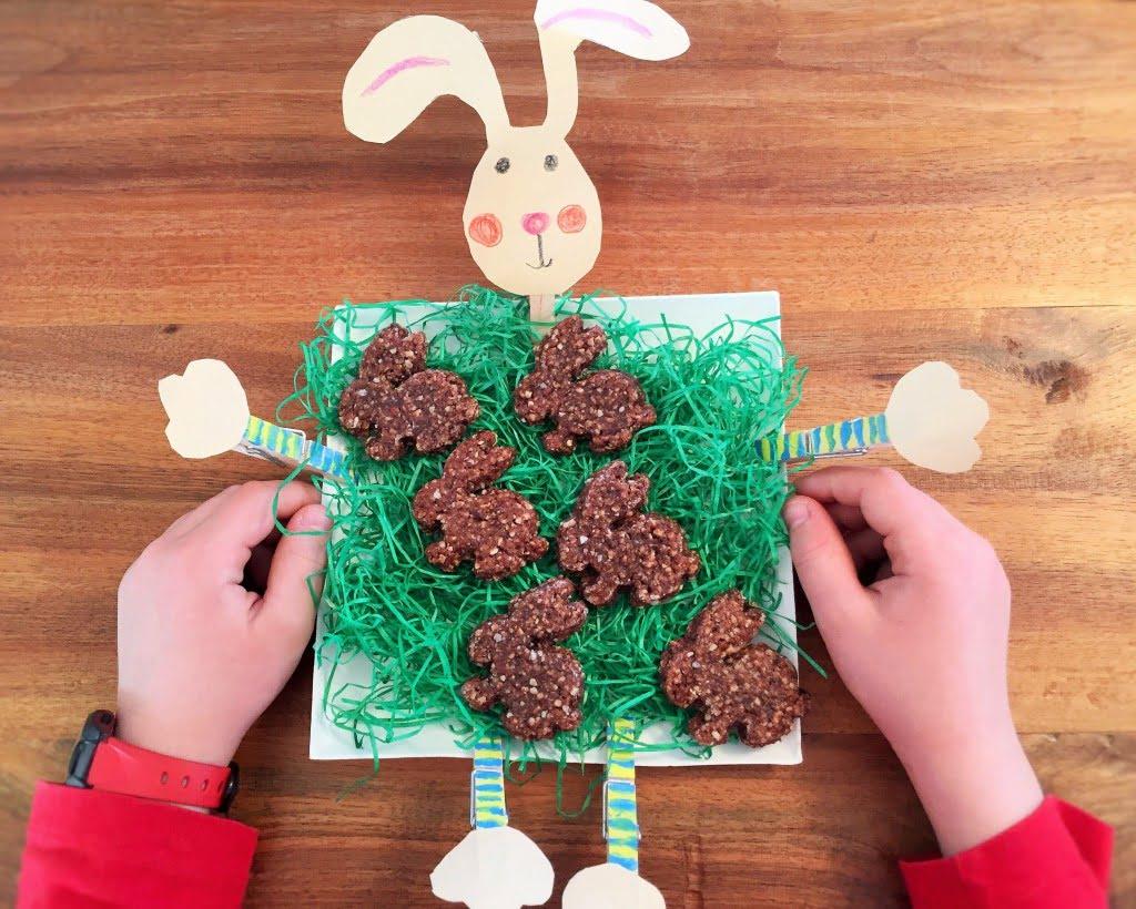 Osterbacken: Feines für den Osterbrunch - wie zum Beispiel Crunchy Cream Schoko-Häschen