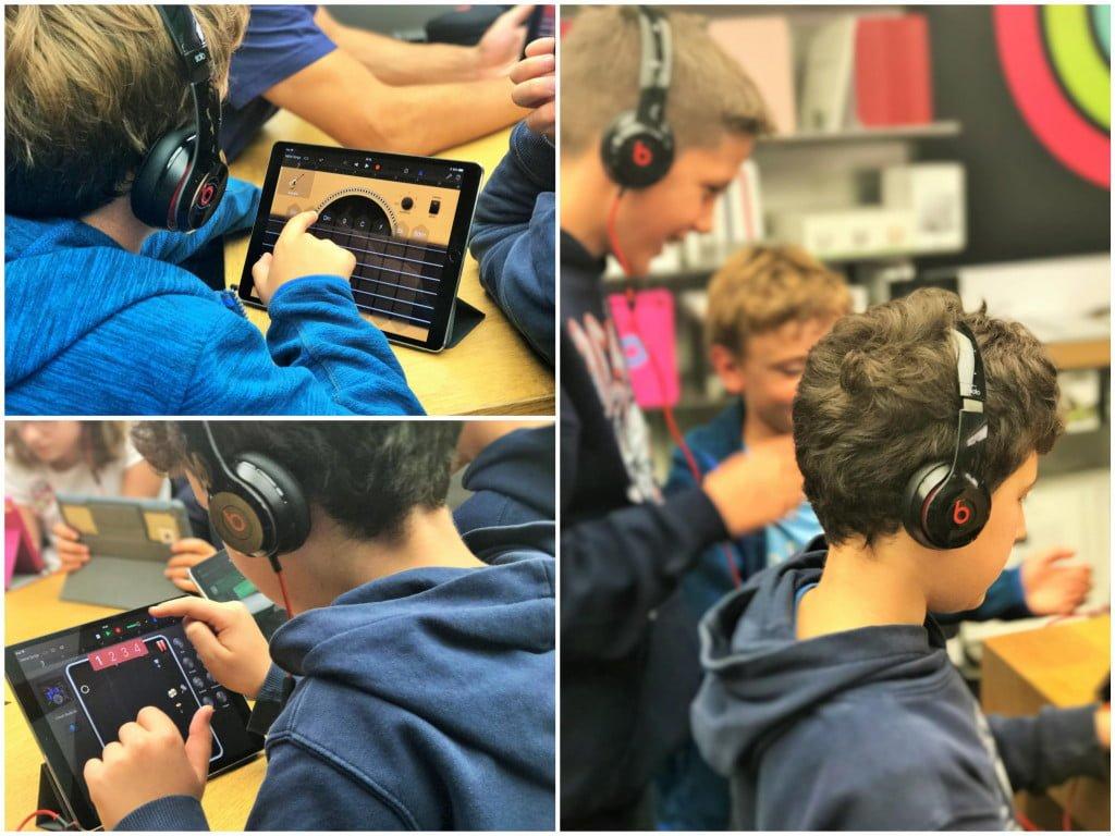 Kids Hour und Garage Band: Wenn Kinder in einer Stunde zu DJs werden
