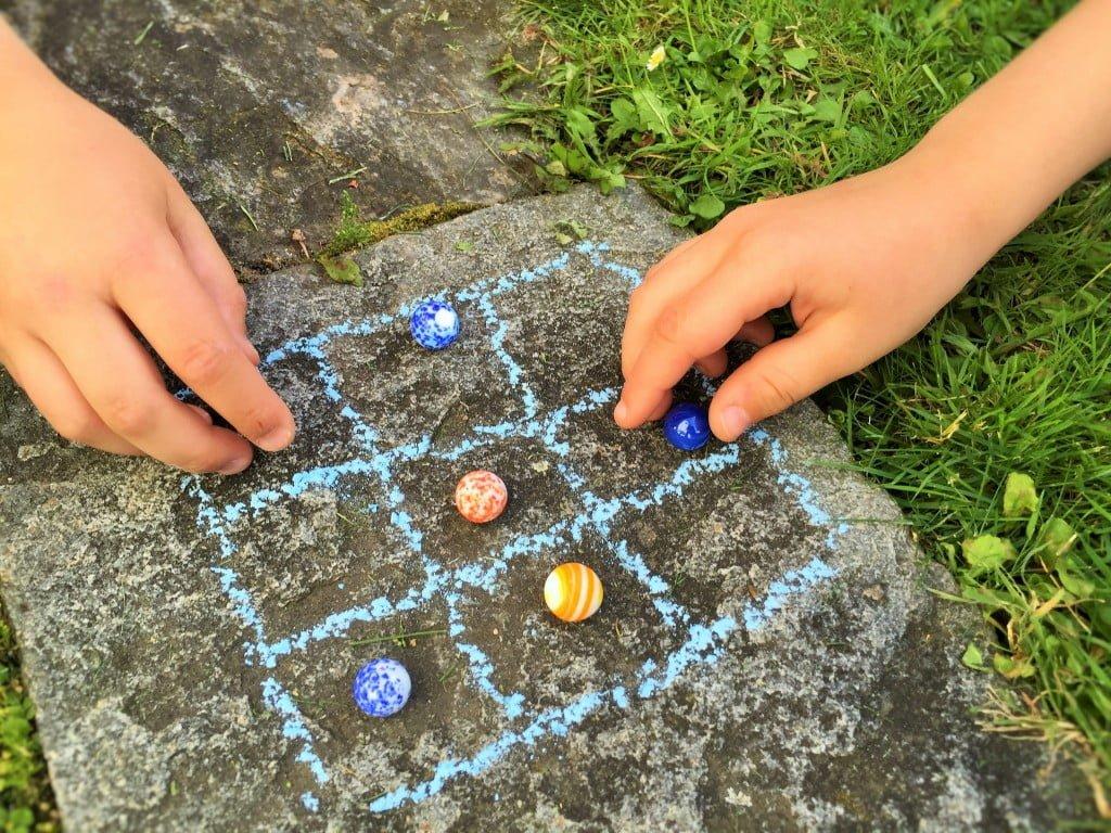 Alte Kinderspiele neu entdeckt
