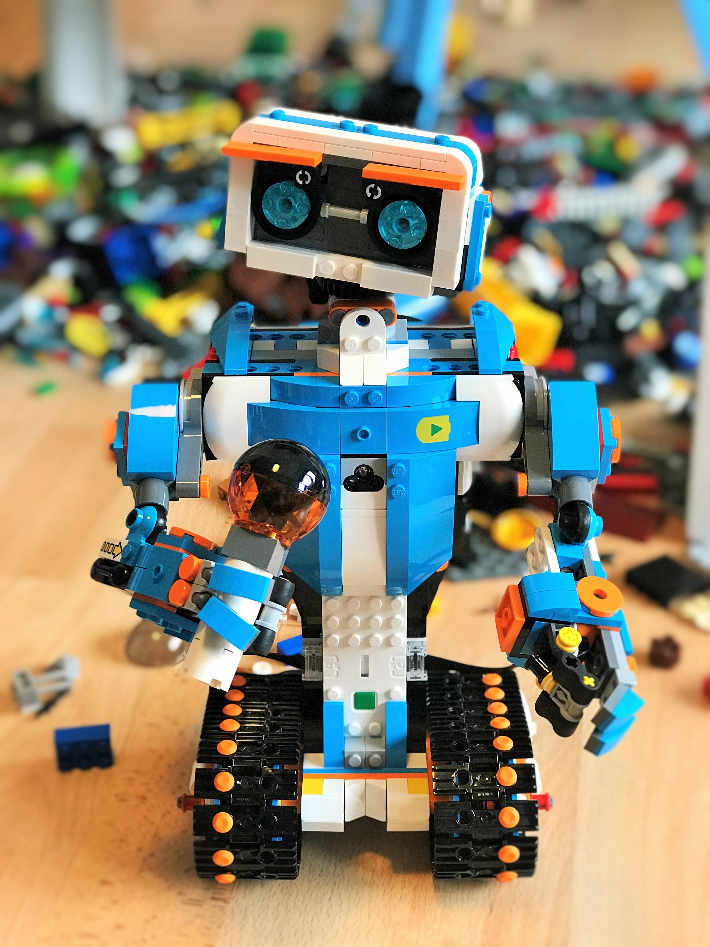 lego-roboter: bauen, programmieren und  auch viel lernen