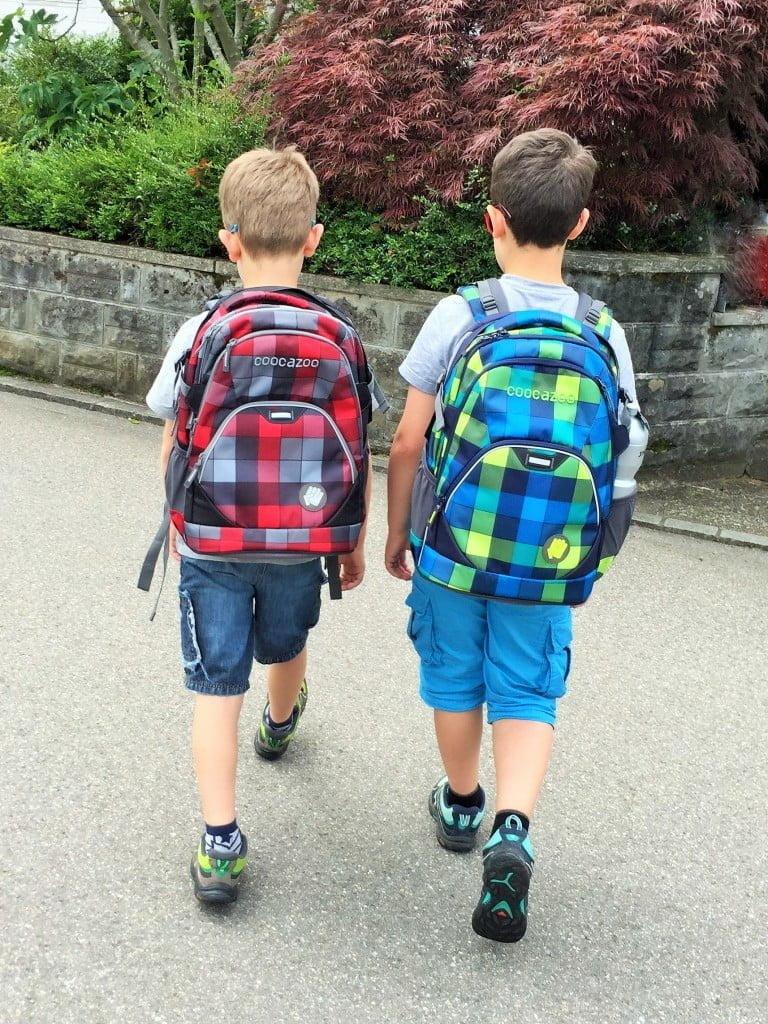 Cool, ergonomisch und sicher in die Schule - der richtige Rucksack macht's aus