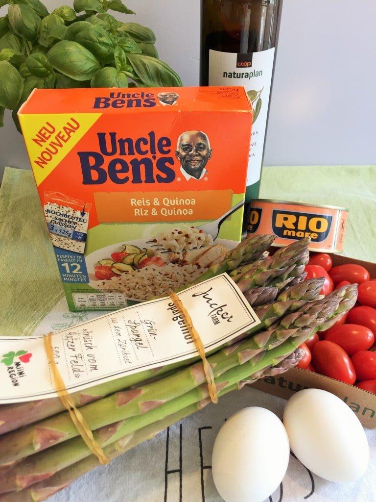 Kochen mit reis gesund gut und sommerlich frisch die - Reis in der mikrowelle kochen ...