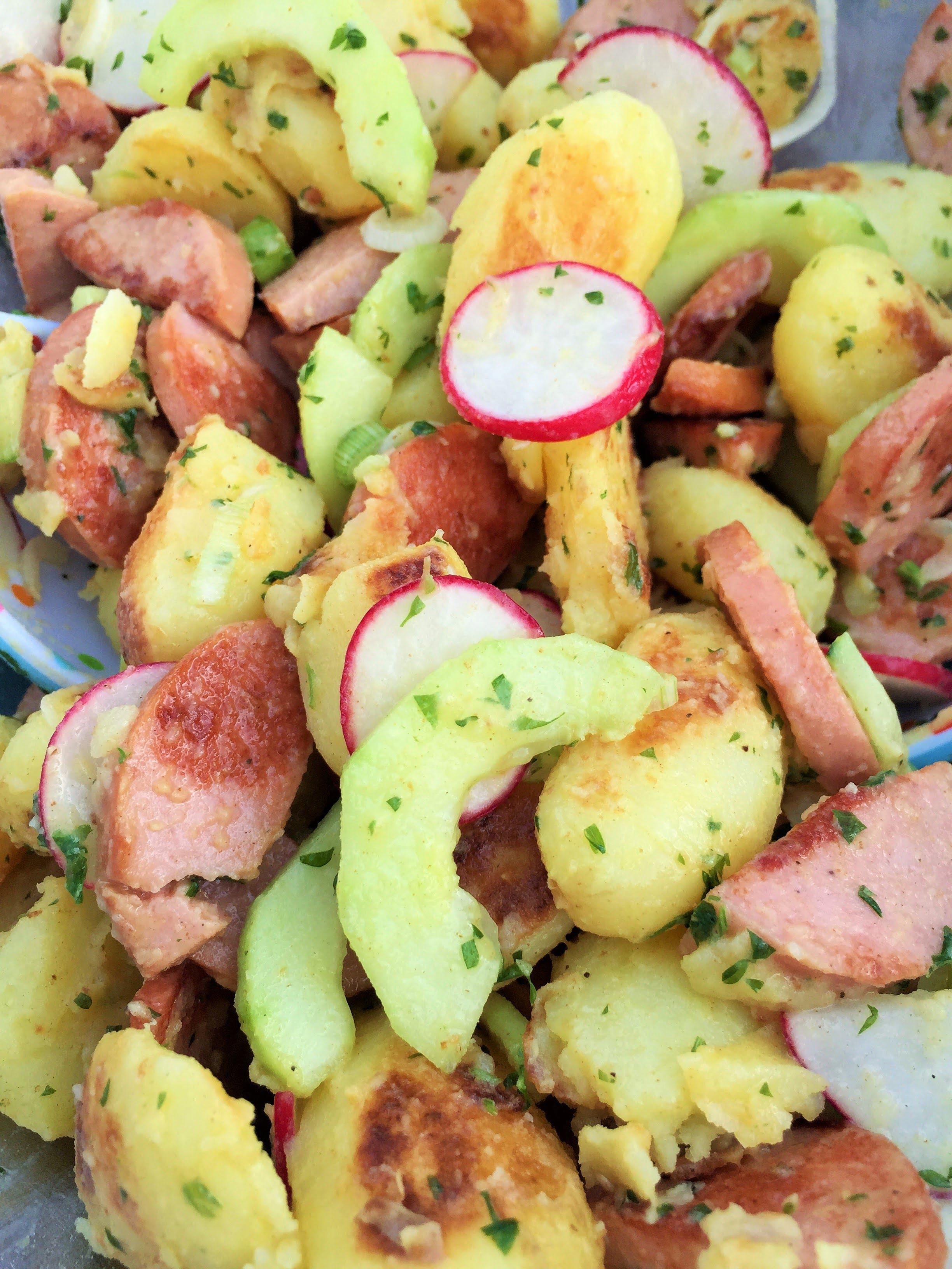 Cervelat Kartoffel Bowl Salat