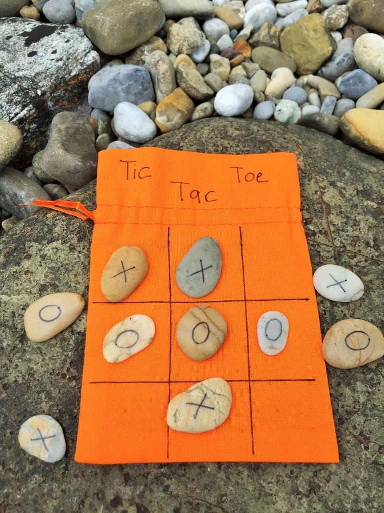 Drei gewinnt: Tic Tac Toe für die Reise