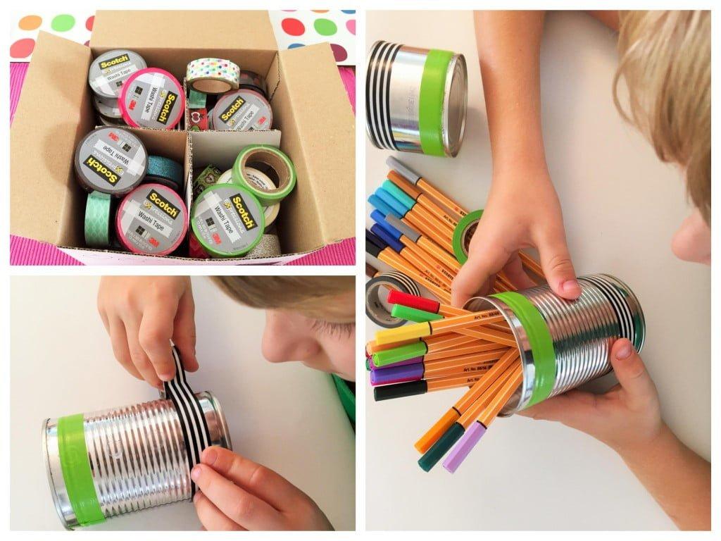 Basteln und dekorieren mit Washi Tapes & Post it Notes