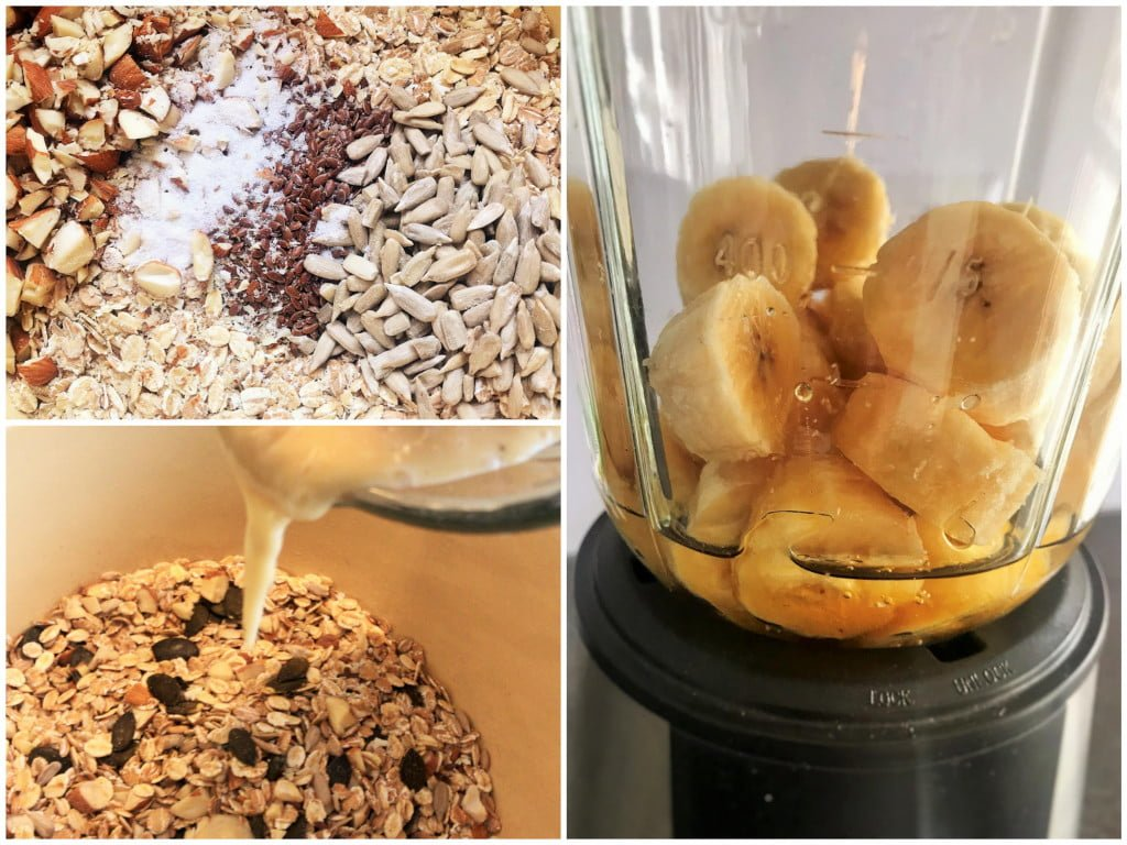 Verführerisch fein: Selbstgemachte Bananen-Granola