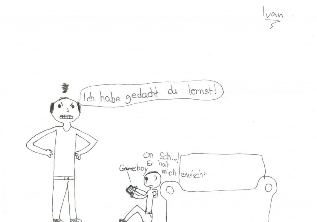 Kinder unter sich: Von Lügen und kurzen Beinen