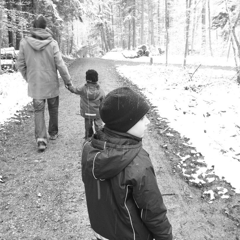 Der erste Schnee - die Welt durch Kinderaugen