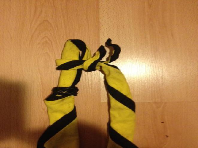 Pfadi: So macht man einen Krawattenknopf