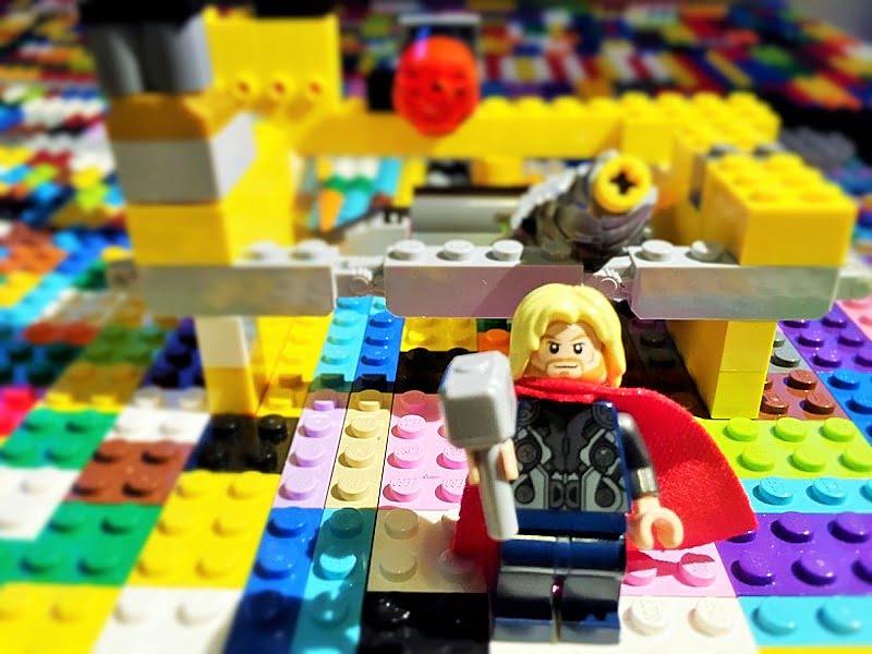 LEGO Art - Spielkunst im Kinderzimmer