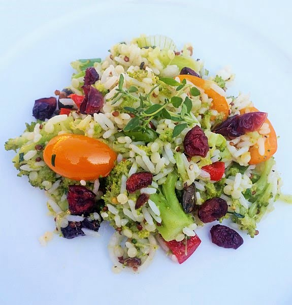 Brokkoli-Sommersalat mit Uncle Ben's Rice & Grains