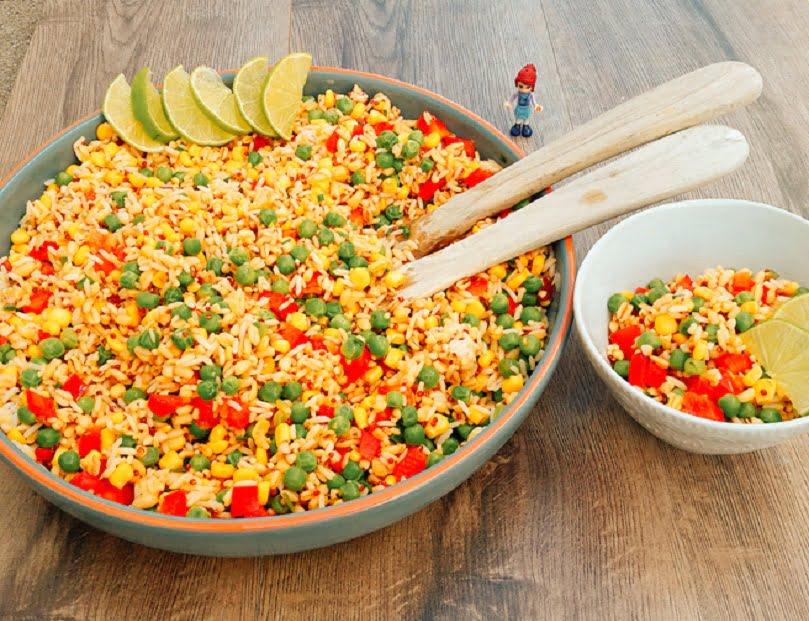 Reissalat fürs Sommerfest