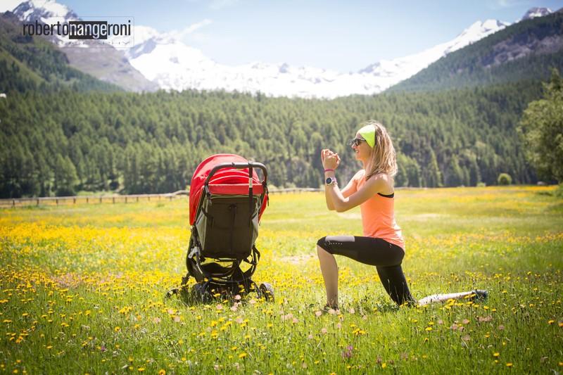 exercise lunge mum post partum