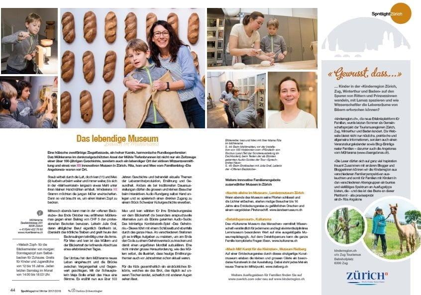 Die Angelones Spotlight Magazine