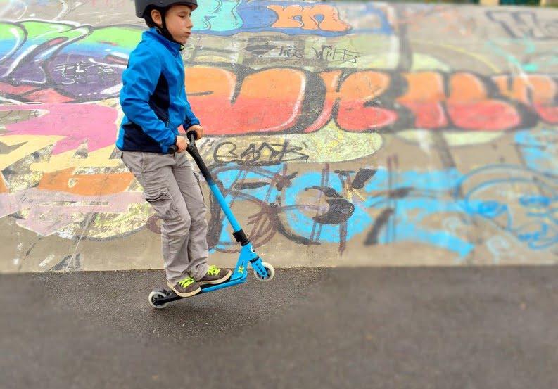 Neue Entwicklungsphase: Kinder im Freestyle-Fieber