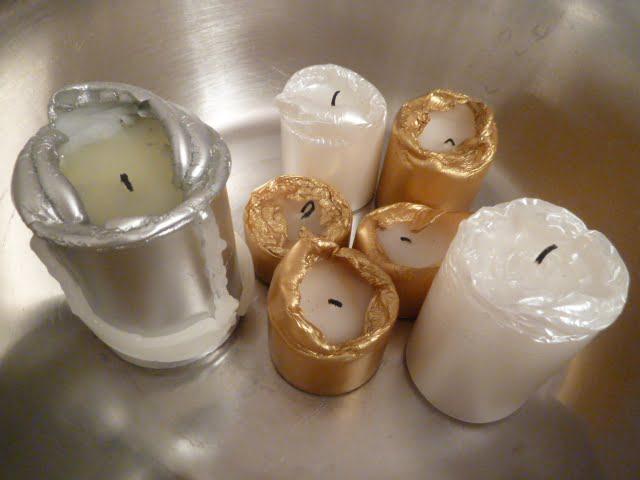 Ideen für die Kerzenverwertung