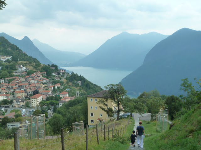 Tessin - auf zum Monte Brè in Lugano
