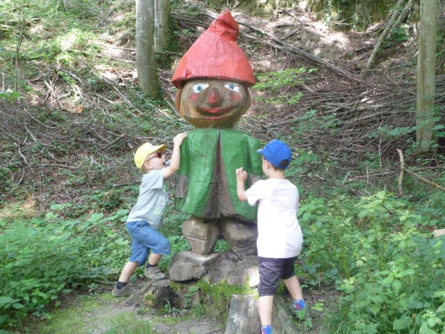 Familienausflug auf den Altberg
