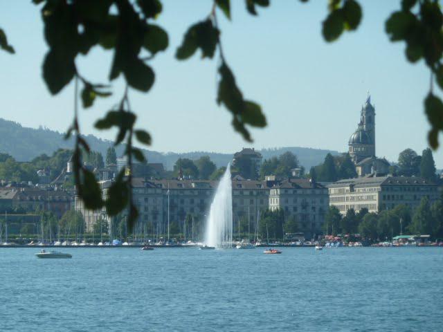 Zürich - ideale Stadt für das Glück