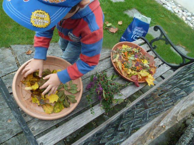 Herbst: Deko aus Wald- und Wiesenschätzen