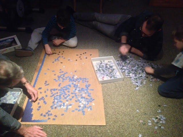Puzzeln macht glücklich