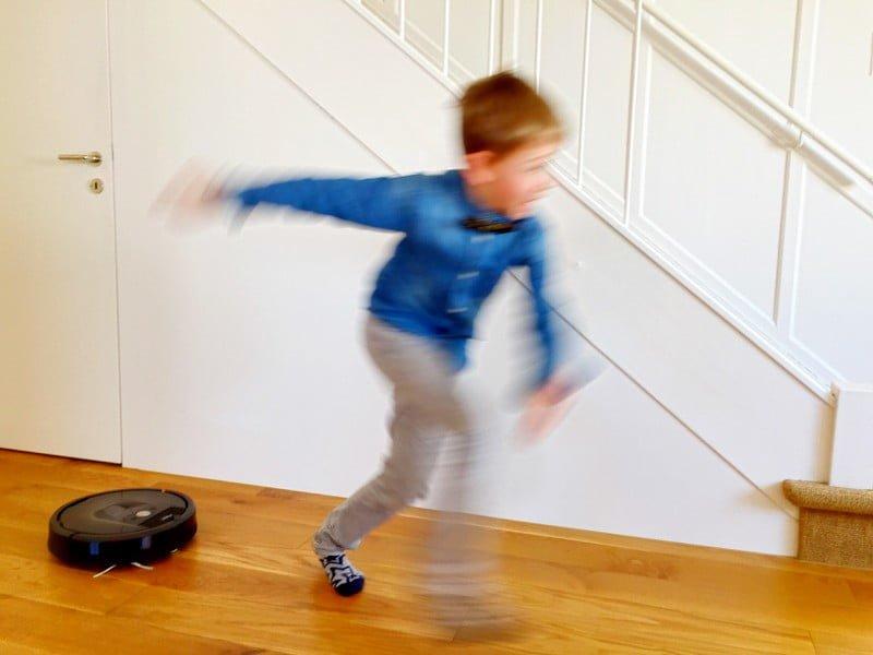 Roomba - der Staubsauger von irobotics