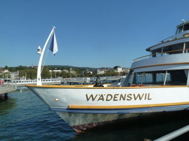 Eine Schifffahrt auf dem Zürichsee