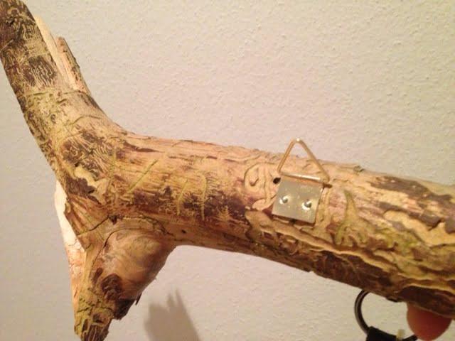 inspiration aus dem wald: schlüsselanhänger aus holz | die,