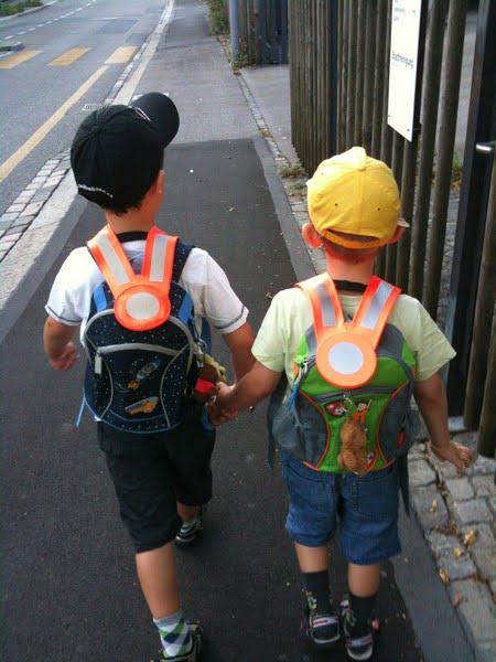 Schulbeginn – Achtung, Kinder!