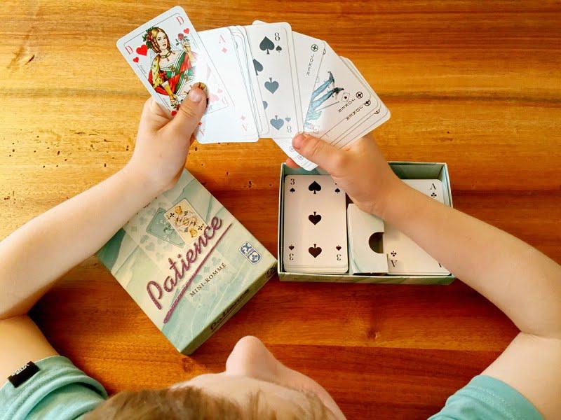 Patience können bereits Kinder spielen.