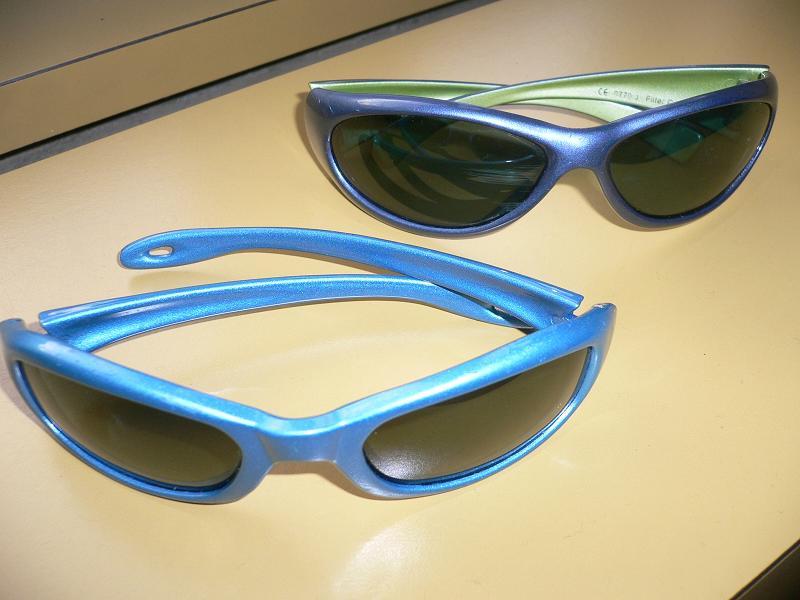 Sonnenbrillen für Kinderaugen sind ein Muss