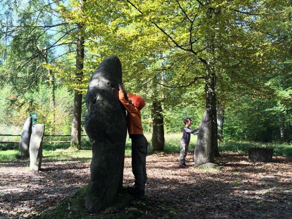 Mini-Stonehenge: Magischer Ort im Zürcher Wald