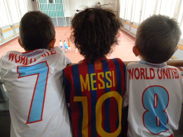 World United Football Academy: Spiel und Spass beim Hallenturnier