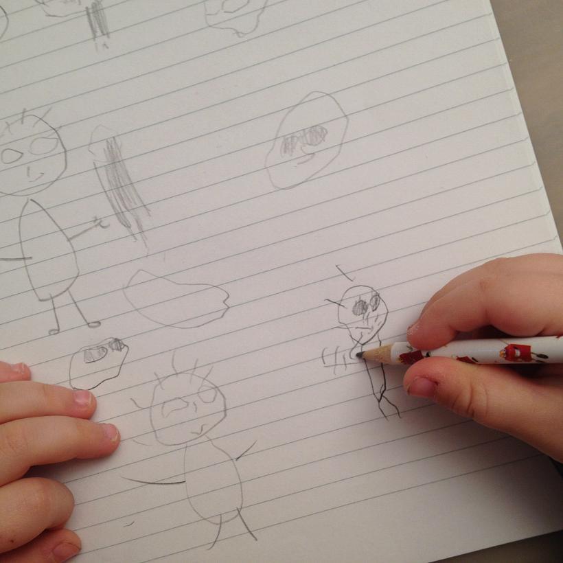 Kinderzeichnungen Die Entwicklung Von Malen Und Zeichnen Bei