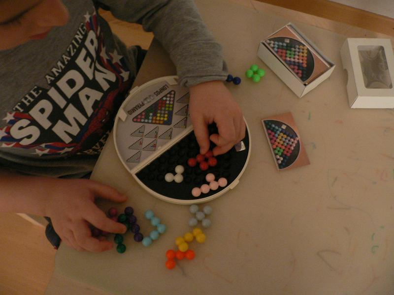 Lonpos - das dreidimensionale Puzzle